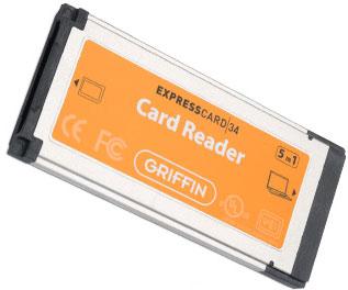 griffin expresscard reader