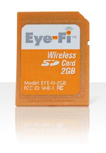 eye-fi wireless memory card
