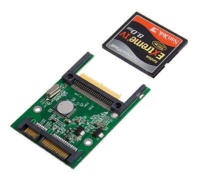 cf to sata adapter