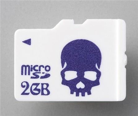 microSD skull