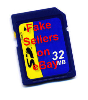 fake SD cards