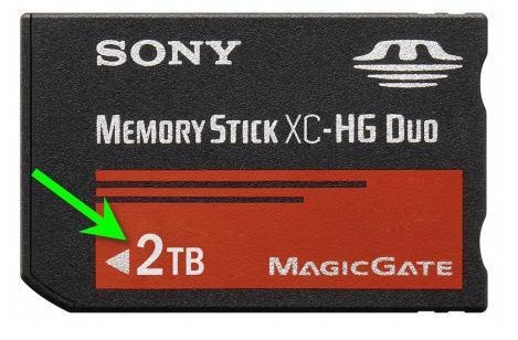 2TB Memory Stick Pro