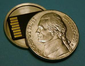 microSD inside nickle