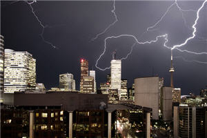 lightening building